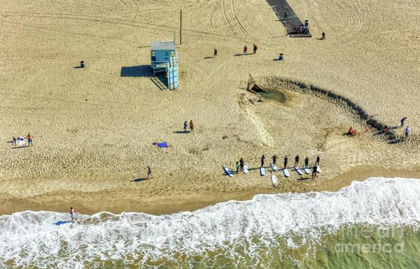 Pyrography - Santa Monica Beach 2 by Mauro Celotti