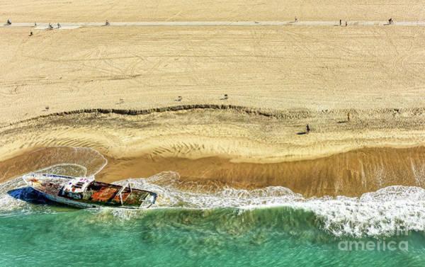 Pyrography - Santa Monica Beach 5 by Mauro Celotti