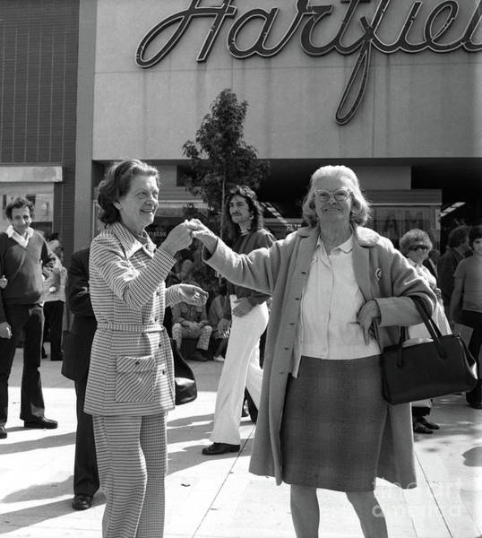 Photograph - Santa Monica Mall - Circa 1974 by Doc Braham