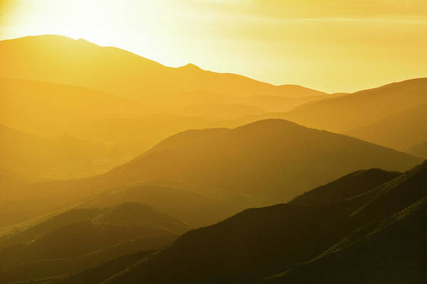 Photograph - Santa Monica Mountains Satwiwa Sunset by Kyle Hanson