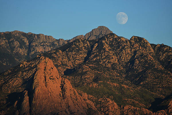 Photograph - Santa Rita Moonrise by Chance Kafka