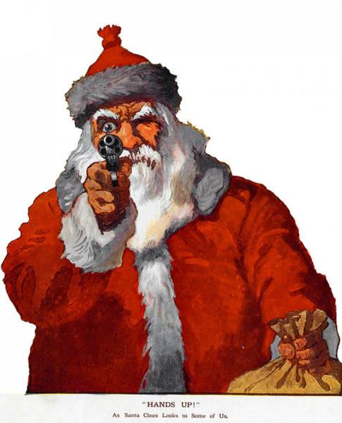 Photograph - Santa Says, Go Ahead, Make My Day  by Doc Braham