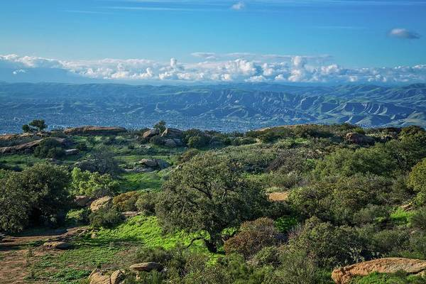 Photograph - Santa Susana Mountain High by Lynn Bauer