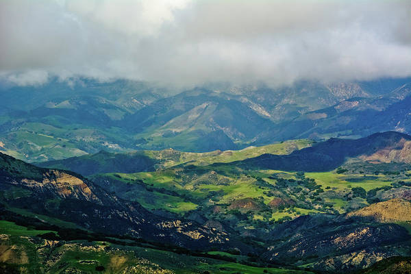 Photograph - Santa Ynez Mountain Valley by Kyle Hanson