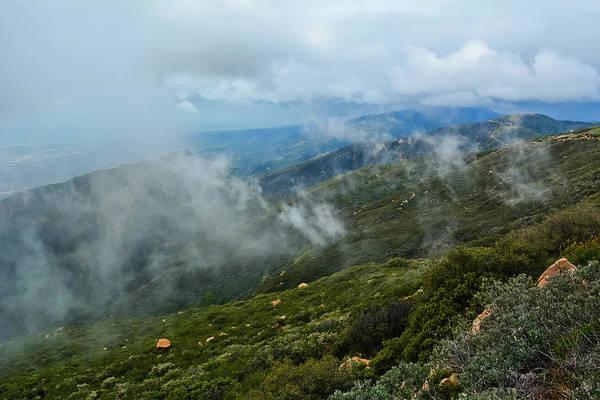 Photograph - Santa Ynez Mountains by Kyle Hanson