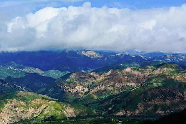 Photograph - Santa Ynez Mountains Landscape by Kyle Hanson
