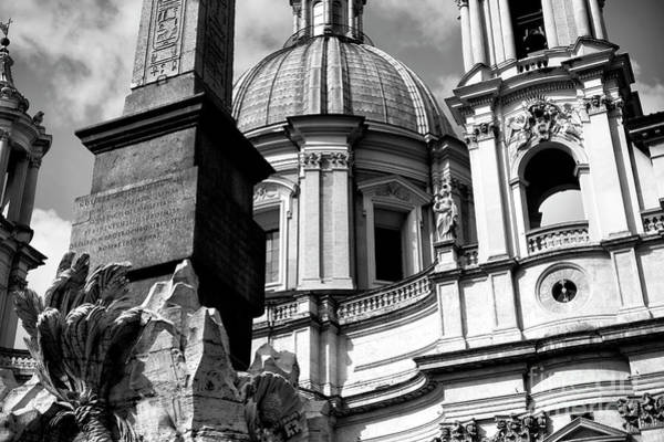 Photograph - Sant'agnese In Agone Roma by John Rizzuto