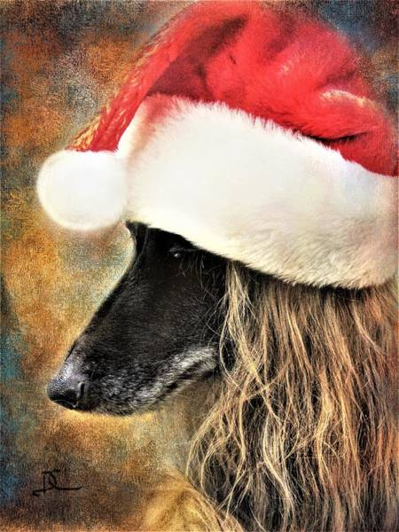 Digital Art - Santa's Helper by Diane Chandler