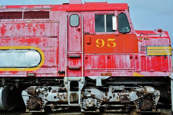 Photograph - Sante Fe Train by Kyle Hanson