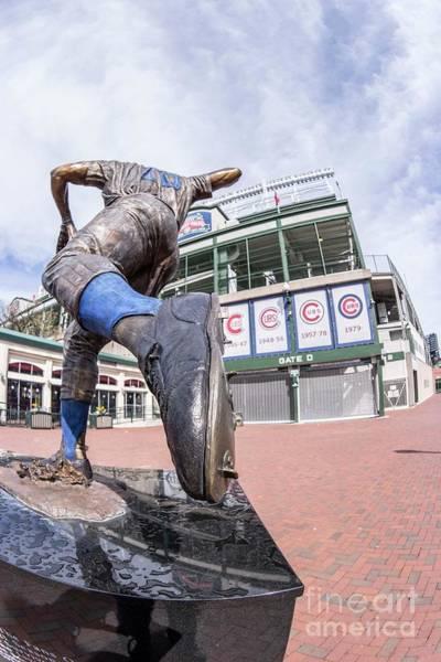Baseball Hall Of Fame Photograph - Santo - Hall Of Fame by David Bearden