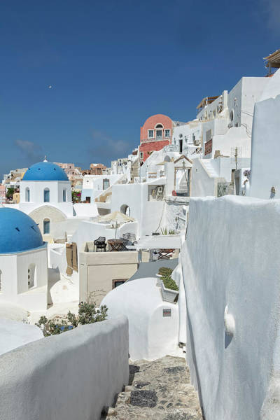 Photograph - Santorini And Up by Kay Brewer