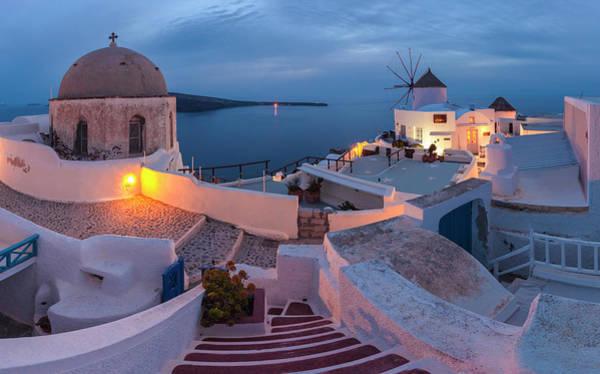 Photograph - Santorini by Evgeni Dinev