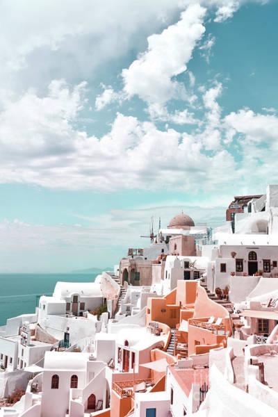 Wall Art - Photograph - Santorini, Oia by PrintsProject