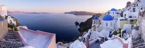 Wall Art - Photograph - Santorini Panorama by Photography By Maico Presente