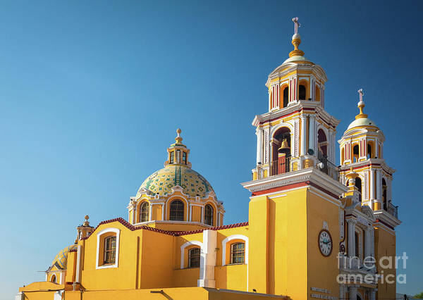 Wall Art - Photograph - Santuario De Nuestra Senora De Los Remedios by Inge Johnsson