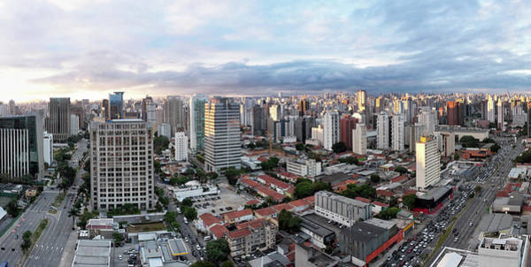 Southeastern Photograph - Sao Paolo City At Sunset by Haydenbird