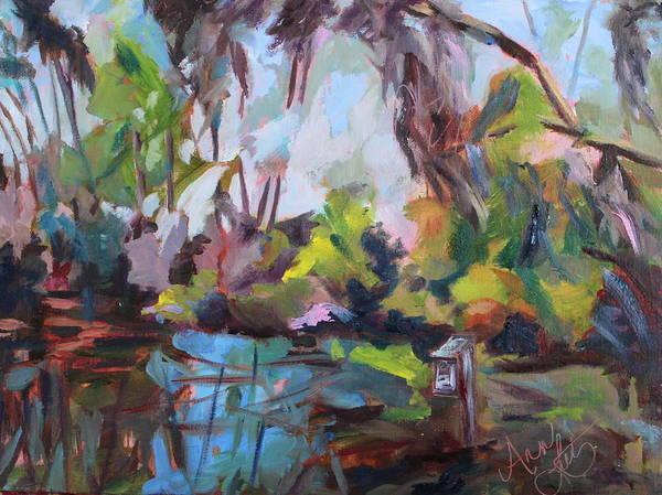 Wall Art - Painting - Sapelo Island by Ann Lutz