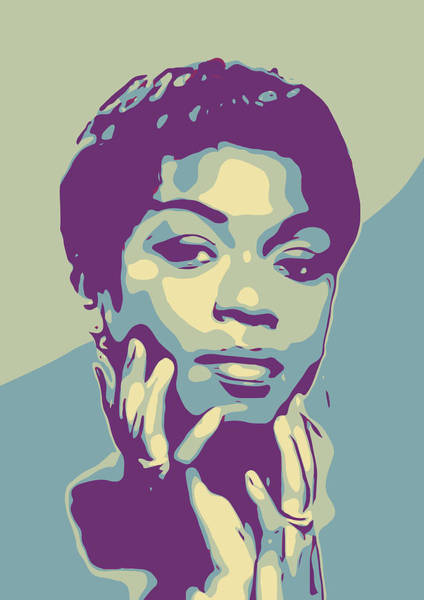 Divine Digital Art - Sarah Vaughan by Greatom London