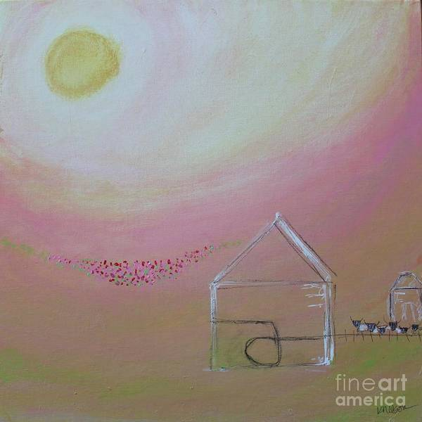 Painting - Sarah's Goat Shed by Kim Nelson