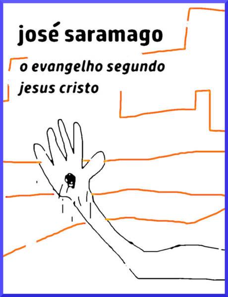 Drawing - Saramago Gospel According To Jesus Christ by Paul Sutcliffe