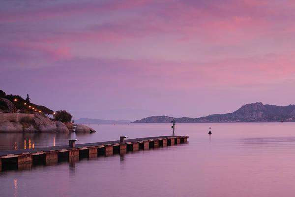 Sardinia Photograph - Sardinia, Italy, Harbor View by Walter Bibikow
