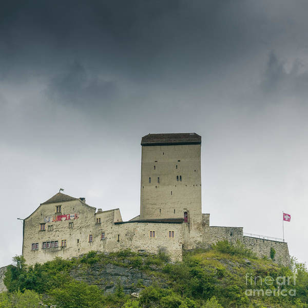 Schloss Wall Art - Photograph - Sargans Castle by DiFigiano Photography