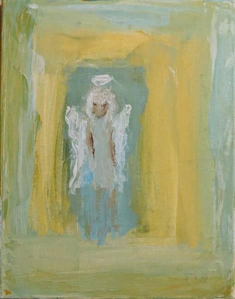 Painting - Sassy Frassy Angel by Jennifer Nease