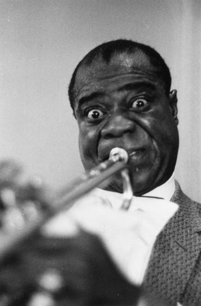Photograph - Satchmo by Haywood Magee
