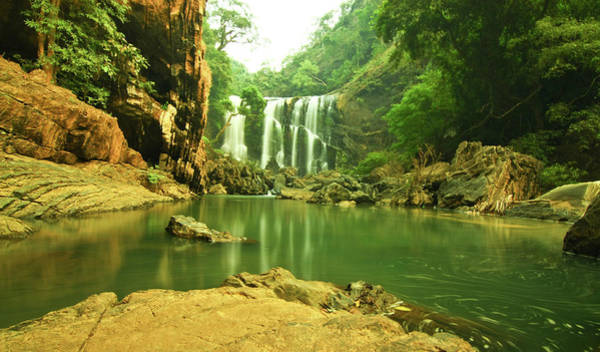 Karnataka Photograph - Sathod Water Falls, North Karnataka by Abhinav Mathur