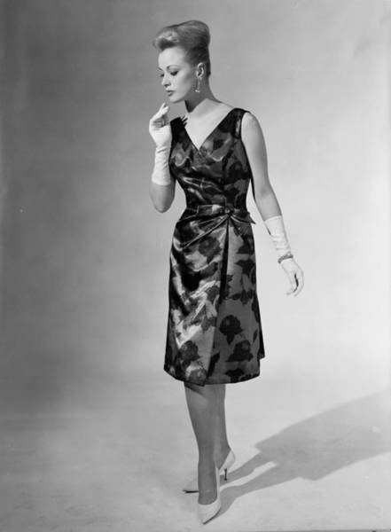 Evening Wear Photograph - Satin Chic by Chaloner Woods