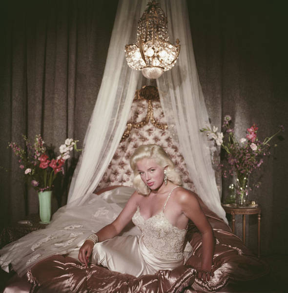 Sex Symbol Photograph - Satin Seduction by Slim Aarons