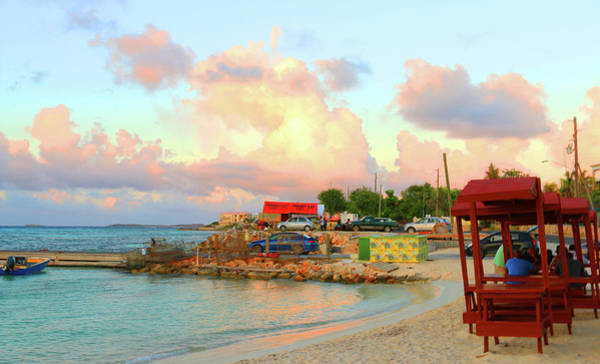 Photograph - Saturday Evening At Island Harbour In Anguilla by Ola Allen
