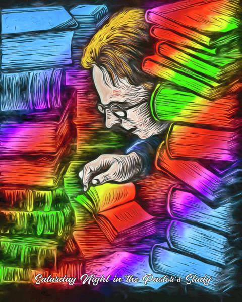 Digital Art - Saturday Night Pastors by John Haldane