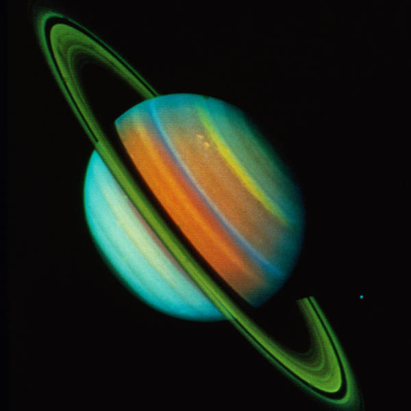 Photograph - Saturn by Sightseeing Archive