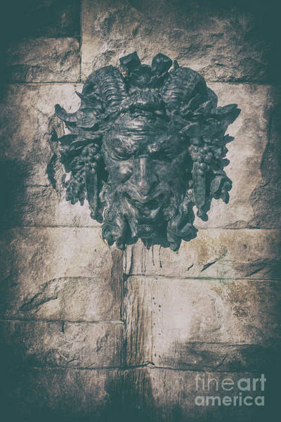 Photograph - Satyr Fountain Adorning The Wall Of The South Terrace by Dale Powell