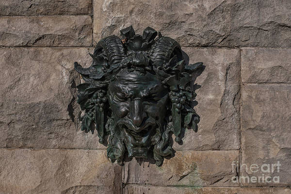 Photograph - Satyr Fountain - Biltmore Estate In Asheville Nc by Dale Powell