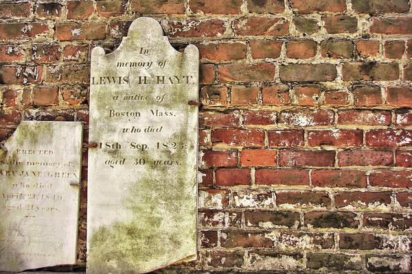 Photograph - Savannah Cemetery by JAMART Photography