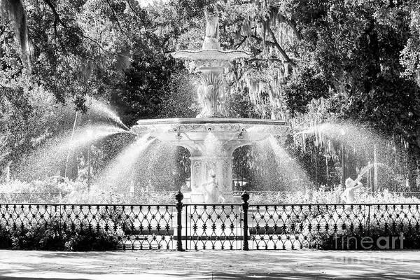 Forsyth Photograph - Savannah Forsyth Park Fountain by John Rizzuto