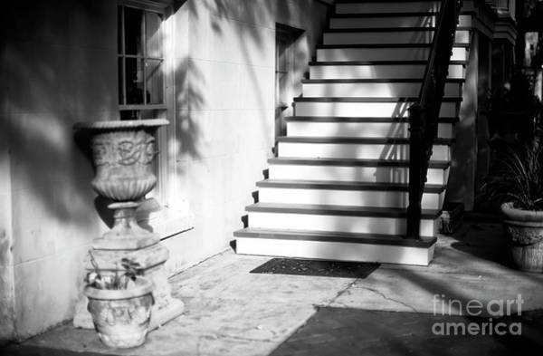 Photograph - Savannah Light And Shadows On The Stairs by John Rizzuto