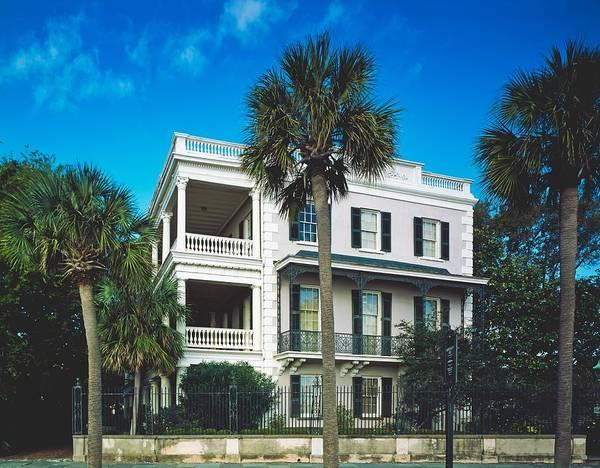 Stye Photograph - Savannah Mansion by Mountain Dreams