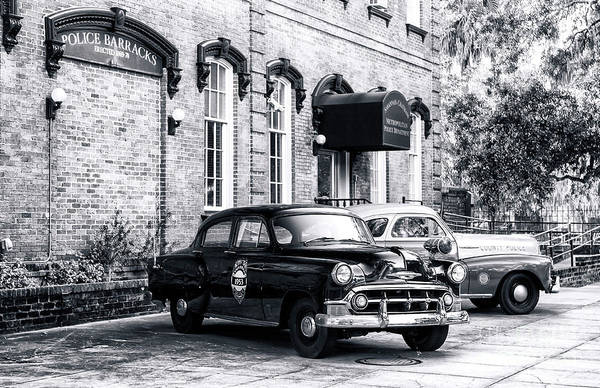 Photograph - Savannah Police Barracks by John Rizzuto
