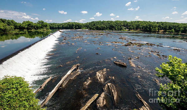 Photograph - Savannah River Rapids - Augusta Ga by Sanjeev Singhal