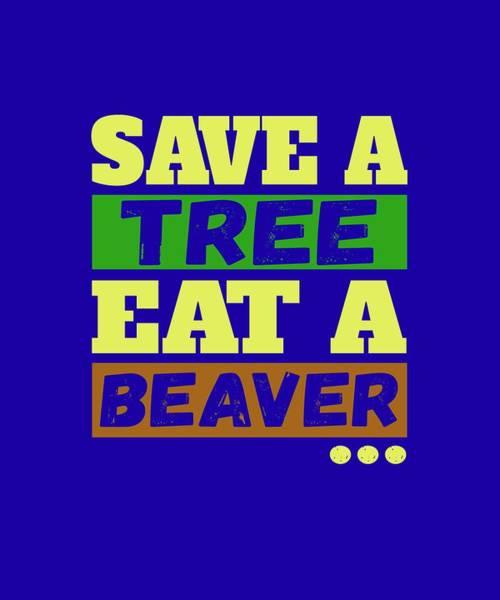 Save A Tree Art Print