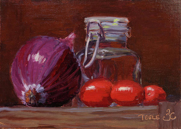 Painting - Savory Still by Trina Teele