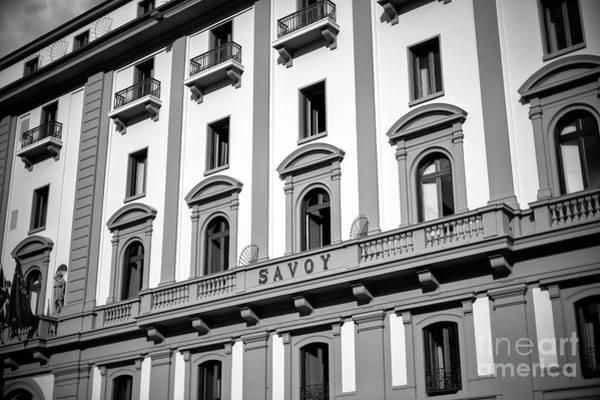 Photograph - Savoy Hotel At Piazza Della Repubblica Florence by John Rizzuto