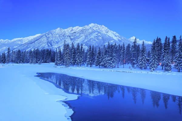 Wall Art - Photograph - Sawback Range Reflecting In Bow River by Stuart Westmorland