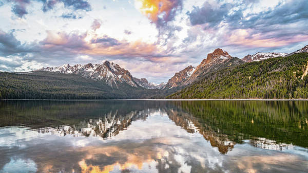 Photograph - Sawtooth Sunrise by Hamish Mitchell