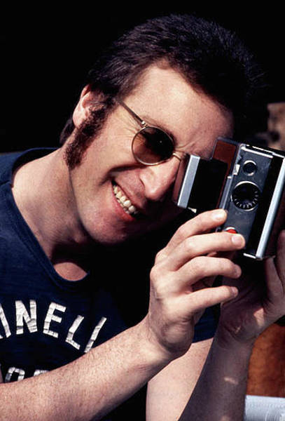 Wall Art - Photograph - Say Cheese John Lennon by Iconic Images Art Gallery David Pucciarelli