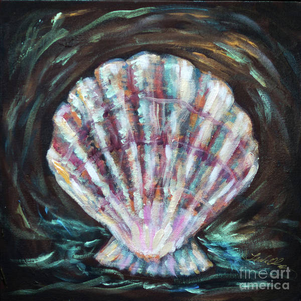 Painting - Scallop by Linda Olsen