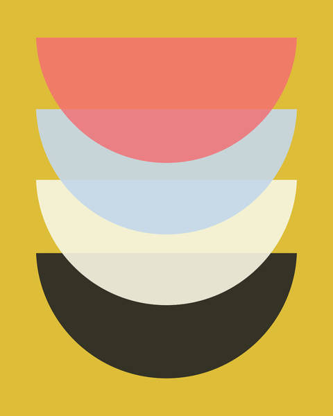 Wall Art - Digital Art - Scandinavian Bowls by Pati Photography